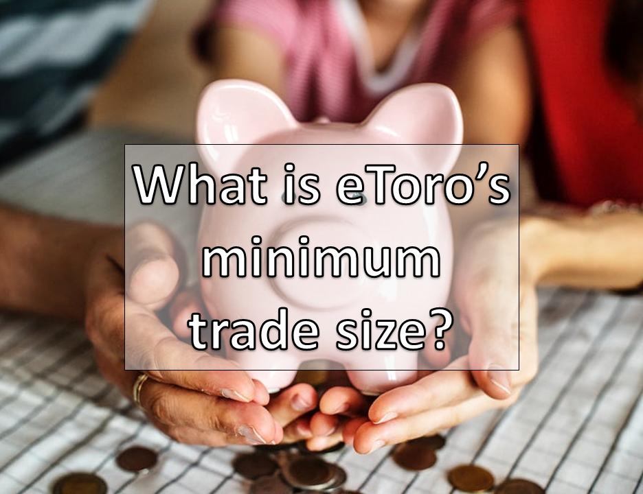 minimum trade in